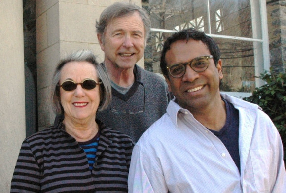 hester poets Suzanne Levine, Tim Napier and Ravi Shankar will be the featured readers at the Chester Library's fifth annual poetry reading on May 4 at the Chester Meeting House.