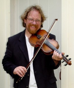 Craig Edwards performs a broad range of American roots music and will perform fiddle music and drinking songs at the April 25th Evening at the Lay House.