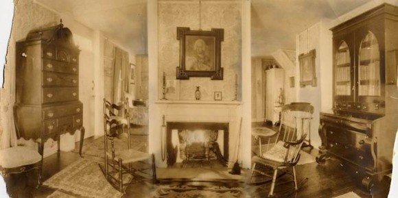 The interior of the General William Harts House in Madison.