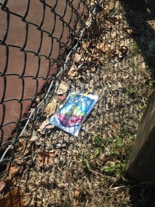 Playground trash