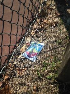 Playground trash