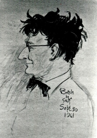 Self portrait by C.D. Batchelor.