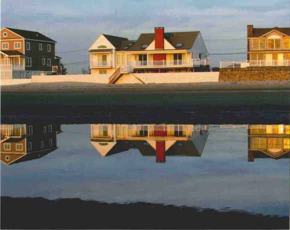 One of the signature photographs for Larry Dinger's exhibition at the Marshview Gallery in Old Saybrook.