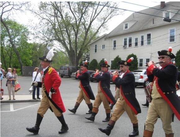This fife and drum corps dates its ancestry back to 1787.