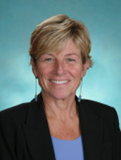 Judy DeLeeuw, Principal of East Lyme Middles School and CT Middle School Principal of the Year.