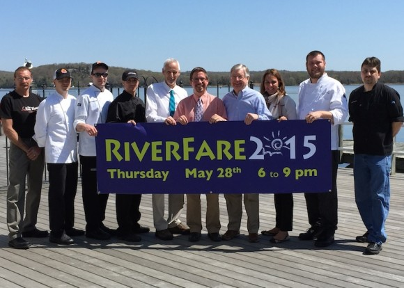 Kick off Summer on the shoreline with some of the best culinary delights the River Valley has to offer. Join Allen G. Ciastho (The Tea Kettle Restaurant), Brian Checko & David Schumacher (Red House), David G. Caistho (Impressive Catering Services), Norm Needleman (Tower Labs.) Chris Dobbs (Executive Director, Connecticut River Museum) Rob Peterson (C Sherman Johnson Co., Inc.) Anna Lathrop (Gourmet Galley Catering) Frett Marsha (Catering by Selene) & Earl Swain (Cloud Nine Catering) for the 22nd annual RiverFare.