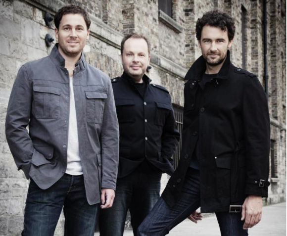 The Celtic Tenors perform at the Katharine Hepburn Theater on Wednesday.