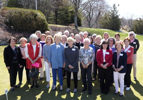 The members of the WGA gather for a photo at their annual meeting.