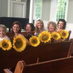 Photo by Michelle Tuite. Pictured from left are Maggie McGlone Jennings, Lily Dorment*, Maria Silverman*, Jacqui Hubbard, Beverley Taylor, Katrina Ferguson* *Denotes member of Actors Equity