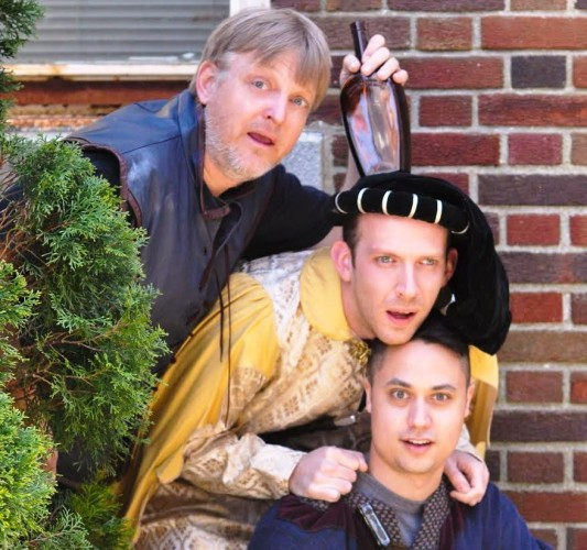 Flock Theatre presents Shakespeare's Twelfth Night as part of the Connecticut River Museum's Theater Along the River, June 21. Photo courtesy of Flock Theatre