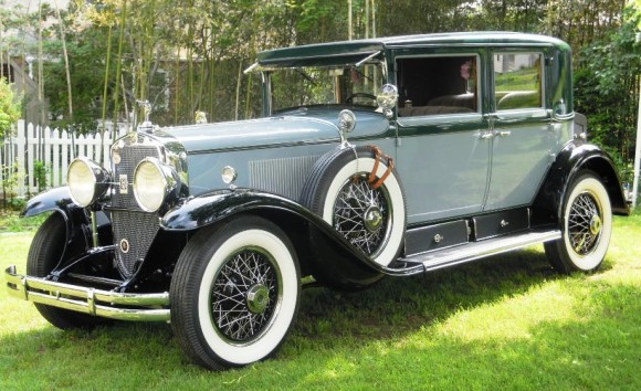 On display will be the 1929 Cadillac connected to the Lindbergh infant kidnapping.  Photo courtesy of Tom Tkacz.