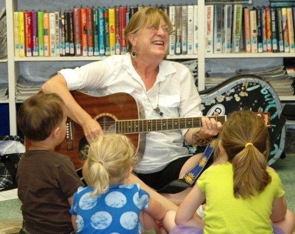 Margie Warner will entertain on Monday at Chester Library's Summer Reading Program kick-off event.