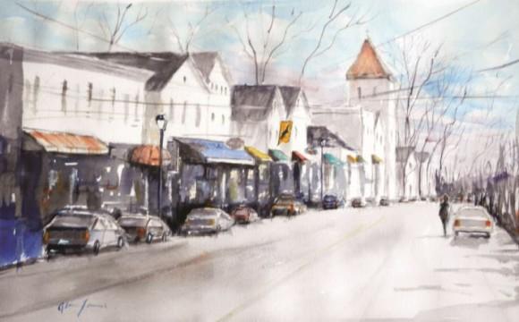 'Main Street Essex' by Alan James