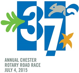 Rotary 2015 Road Race logo