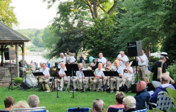 Last summer, more than 700 concert-goers enjoyed picnics, dancing and the swinging sounds of The Big Band with Bob Hughes as the group performed in Main Street Park in Essex Village. This summer's free concert is scheduled for July 25 in the Park.