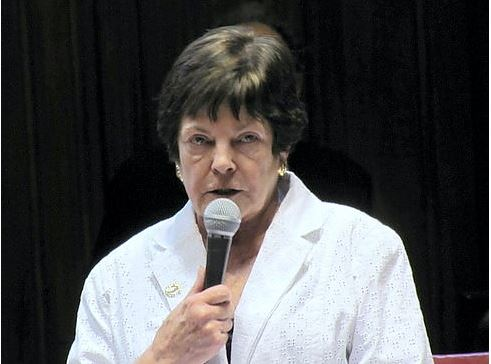 Former State Senator Eileen Daily, whose death was announced today.  CTNewsJunkie.com file photo.