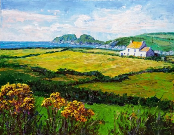 'Irish Splendor' is a featured painting in the upcoming Essex Art Association's Summer Open Exhibition