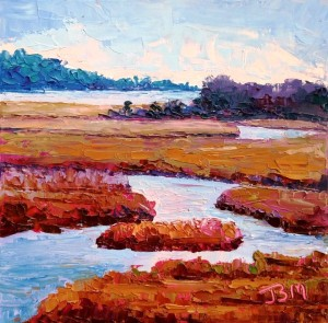 'Marshes of the Connecticut River' is a featured painting in the upcoming Essex Art Association's Summer Open Exhibition.