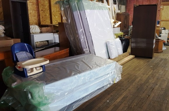 Mattresses purchased by Simply Sharing with the grant from the Community Foundation of Middlesex County.