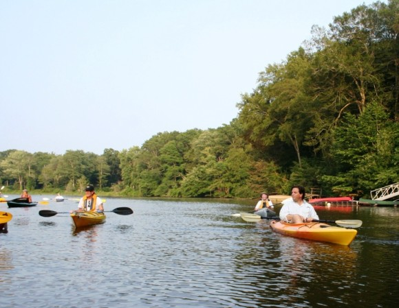 Essex Land Trust offers a kayak trip into North Cove, Aug. 6.