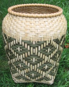 """The Chief's Daughter"" basket by Sosse Baker."