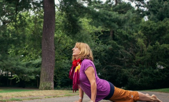Grace Osora Erhart will teach an introductory yoga class Sept. 26 at Essex Library.