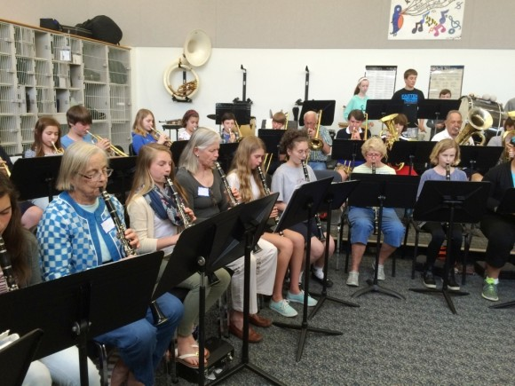 CMS New Horizons and John Winthrop Middle School Band