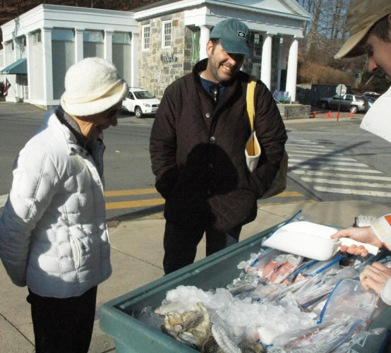 Want fresh seafood? Local Catch will be at the Chester Holiday Markets each week with a wide selection.