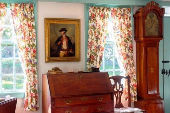 The welcoming parlor of Essex Historical Society's 18th-century Pratt House awaits your post-Thanksgiving visit on Friday, Nov. 27 and Saturday, Nov. 28. Photo by Jody Dole.