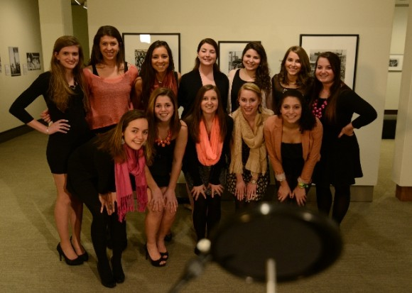 The Ruby Fruit a cappella group will participate in the sing-off being held March 5.