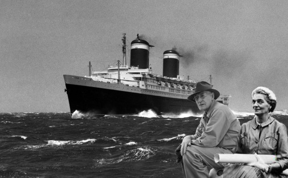 The 2016 Centerbrook Lecture Series opens with a talk on the evolution of ocean liners by Chad