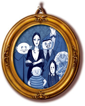 addams family art