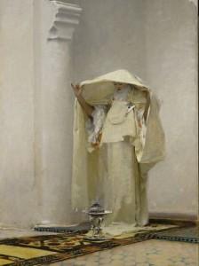 """John Singer Sargent's """"Smoke of Ambergris"""","""