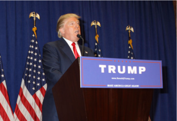 Republican Presidential candidate Donald Trump on the 2016 campaign trail.