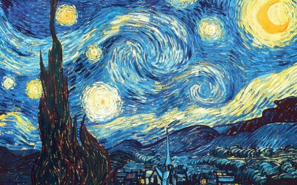 Paint like Van Gogh at a gathering sponsored by Vista.