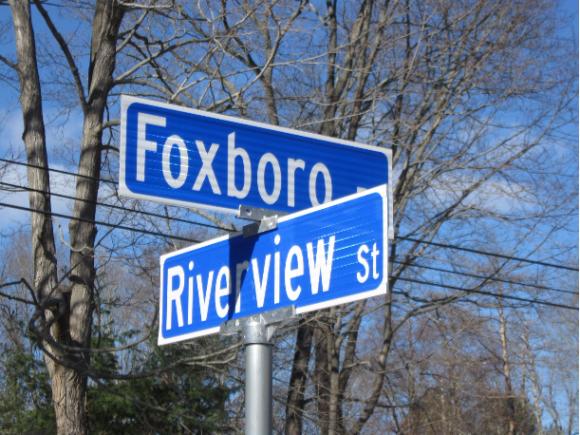 Essex street sign