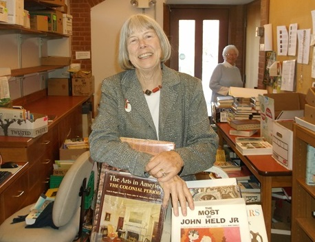 Peggy Tuttle is new sales coordinator for Essex Library book sales.