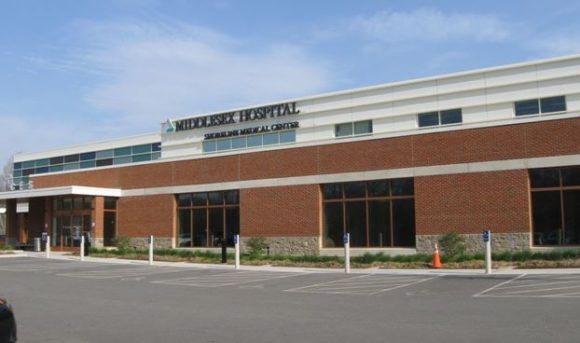 Front view of Middlesex Hospital's Shoreline Medical Center at Westbrook.