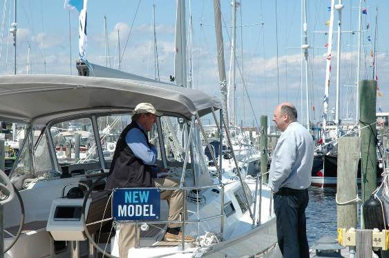The first CT Spring Boat Show in Essex features some of the newest boats on the market including center consoles, fishing boats, luxury cruisers, sport and sail boats.