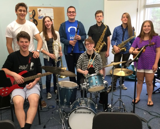 Community Music School Jazz Ensemble