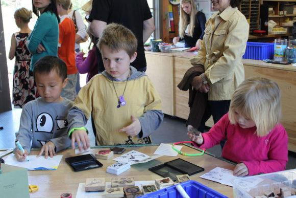 Families are invited to create hands-on crafts during Community Free Day on May 7, at the Florence Griswold Museum in Old Lyme.