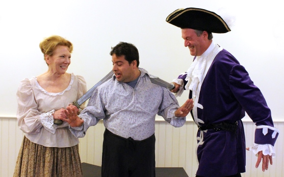 "Nancy, Brian and Craig are three of the actors in ""The Pirates of Penzance"" at The Kate."