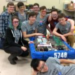 VRHS Students Finish Strong at State's Robotics Competition