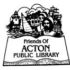 Acton Public Library Book & Bake Sale Begins July 14