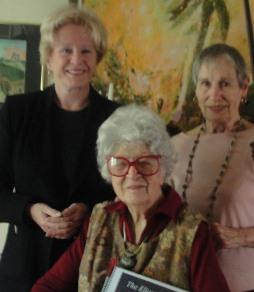 Jane Rice, Eliane Koeves and Nikki Lindberg