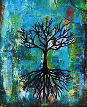 """Blue Forest,"" Ishita"