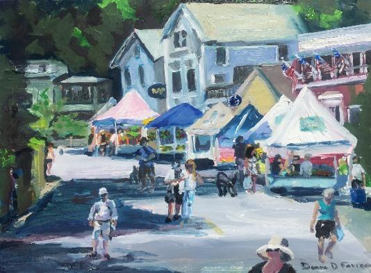 "Donna Dubreuil Favreau, ""Chester's Farmers Market"""