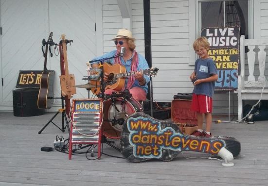 Ramblin' Dan Stevens kicks off the Thursdays on the Dock series at the Connecticut River Museum this summer.