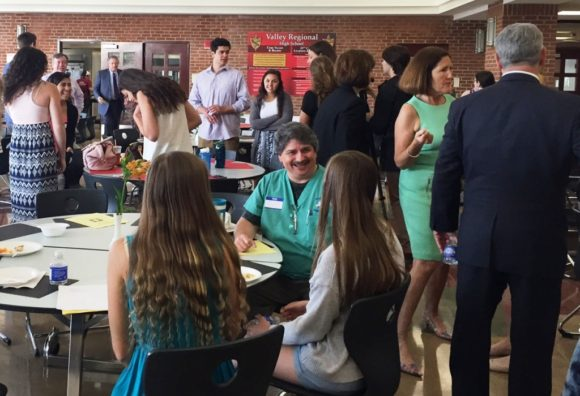 The 10th Annual Partnership Celebration brought interns and their mentors together to enjoy food and farewells.