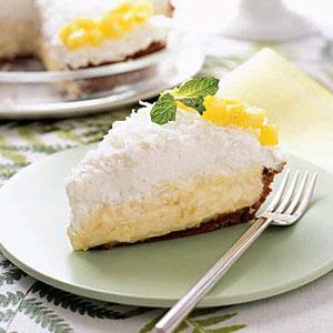 Woman's Day Pineapple-Coconut Cream Pie